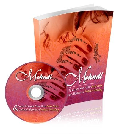 Mehndi Henna Set (eBook & MP3 Audio)